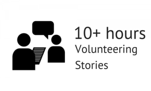 10_plus_hoursVolunteering Stories